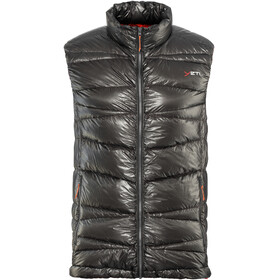 Yeti Cavoc Ultralight Down Vest Men Dark Gull Grey/Madarin Red